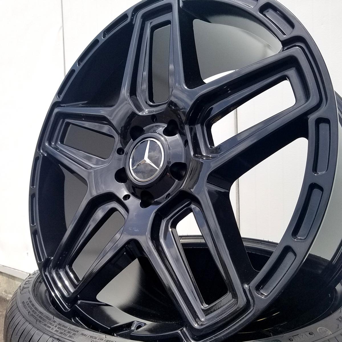 国産タイヤset LEXXEL Anthem メルセデス ベンツ Gクラス ゲレンデ G63 G65 G550 G500 G350 YOKOHAMA PARADA SPEC-X 285/45R22 22インチ_画像7