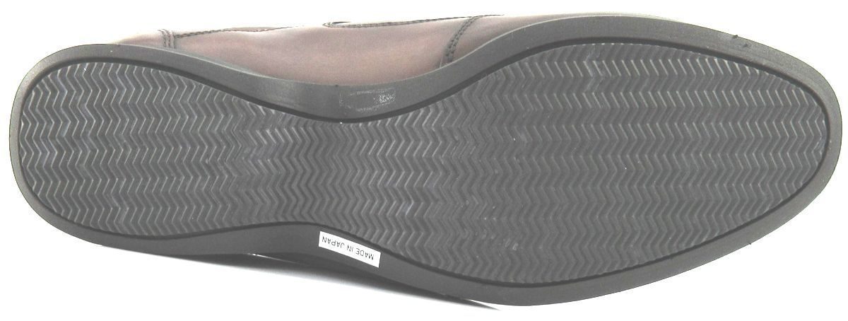 メンズレザースニーカー 日本製 紳士靴 ピエールカルダン pierre cardin 本州送料無料 本革レースアップシューズ 25cm幅広3E 濃茶 U2009_画像6
