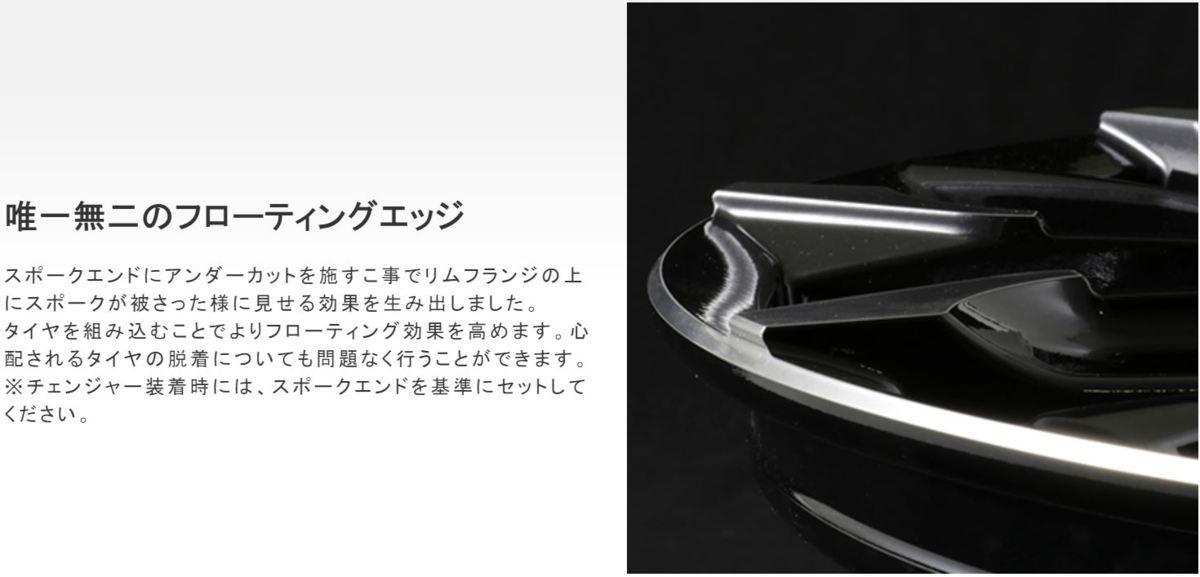 新品 RAYS VERSUS STRATAGIA Triaina 20×9.0J +36 5H120 SAJ 1本 BMW X3 F25 X4 F26_画像6