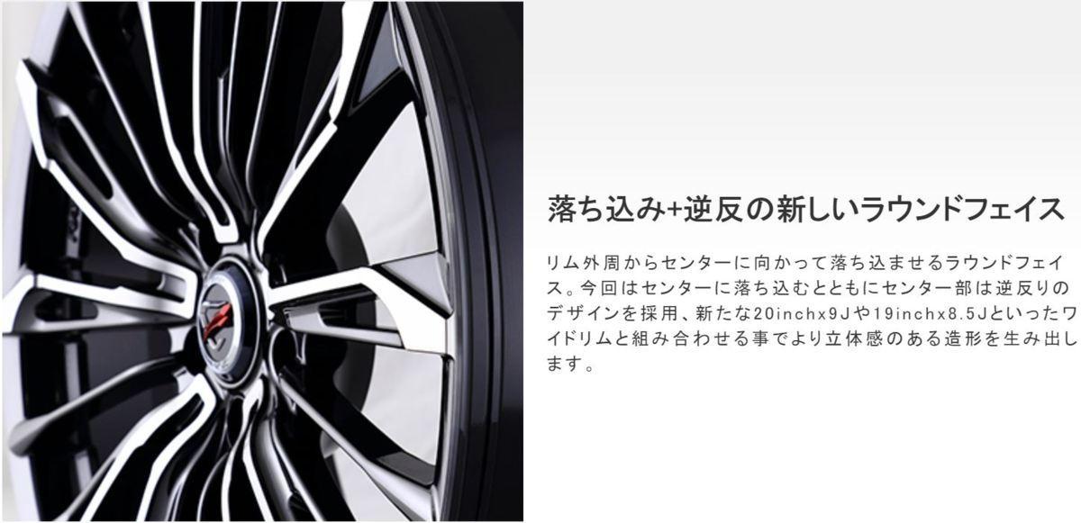 新品 RAYS VERSUS STRATAGIA Triaina 20×9.0J +36 5H120 SAJ 1本 BMW X3 F25 X4 F26_画像5