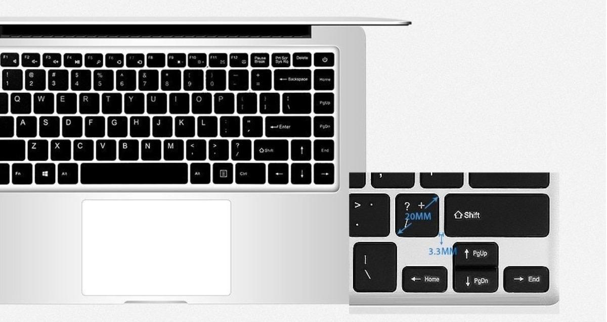【最安値販売】Laptop Ezbook 2 Ultrabook インテルCHERRY TRAIL X5 Z8350 シルバー 14.0インチ Windows 10 【領収書発行可能】_画像6
