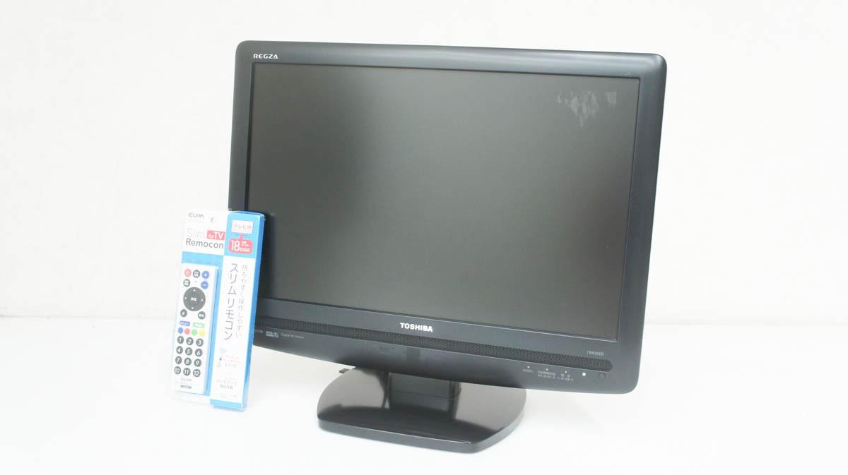 TOSHIBA 東芝 REGZA 液晶テレビ 19インチ 19A3500_画像1