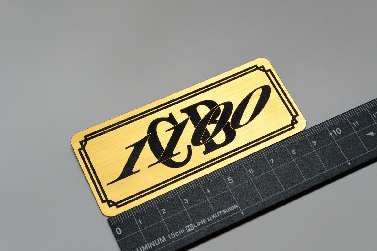 B-459 送料無料 CB1100 バージョン1 金/黒 オリジナルステッカー タンク テール カウル サイドカバー 等に ホンダ CB1100_画像1