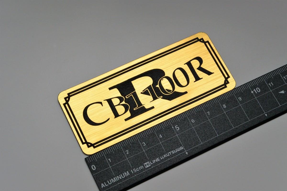 B-514 送料無料 CB1100R バージョン2 金/黒 オリジナルステッカー タンク テール カウル サイドカバー 等に ホンダ CB1100R_画像1