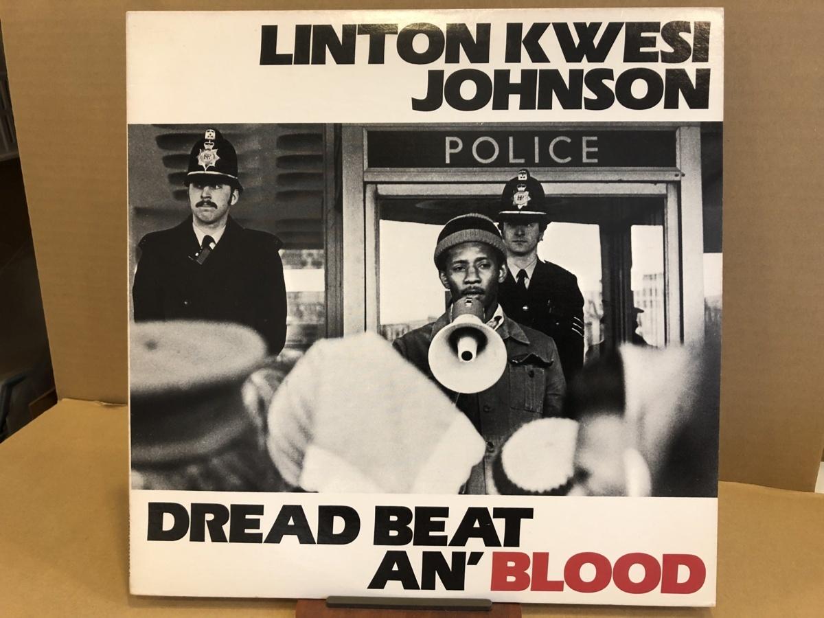 LINTON KWESI JOHNSON(リントン・クウェシ・ジョンソン)/DREAD BEAT AN' BLOOD HEARTBEAT RECORDS-01 #100082_画像1