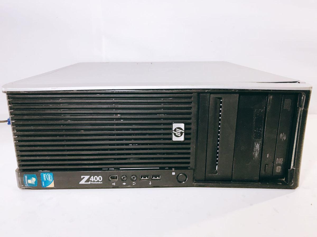 YH56★HP Z400 Workstation Quadro NVS 295 、( CPU、メモリ、HDD)無 、パーツ取用などに !!
