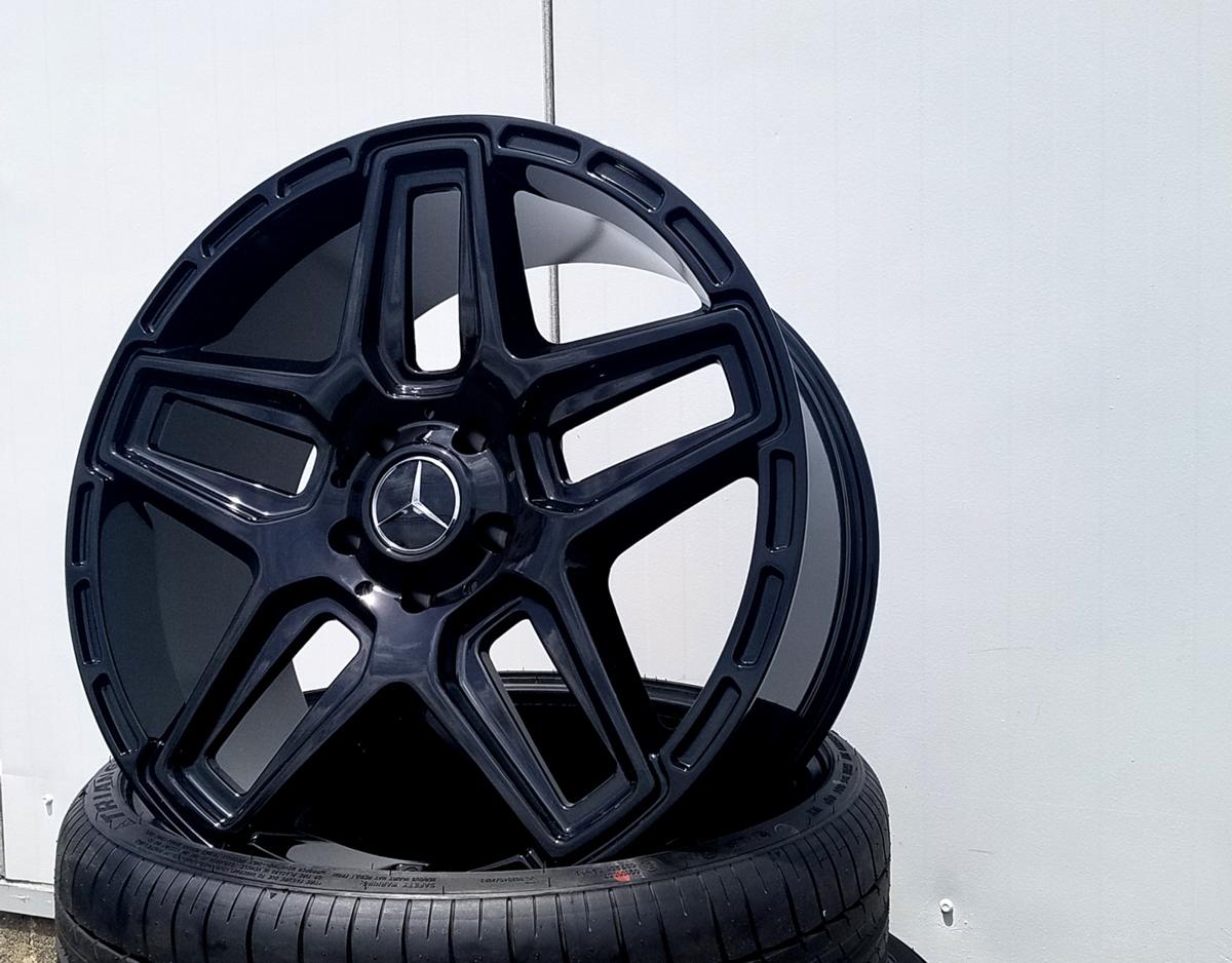 国産タイヤset LEXXEL Anthem メルセデス ベンツ Gクラス ゲレンデ G63 G65 G550 G500 G350 YOKOHAMA PARADA SPEC-X 285/45R22 22インチ_画像5