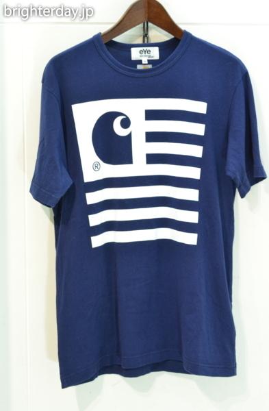 SALE■JUNYA WATANABE CdG MAN × CARHARTT Tシャツ■コムデギャルソン カーハート_画像1