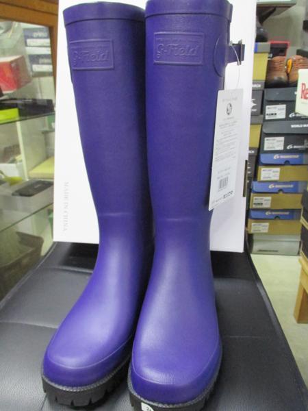 ミツウマ 長靴  グリーンフィールド L01  Gフィールド L01 ヒースブルー 24.0cm  定価:6380円_画像2