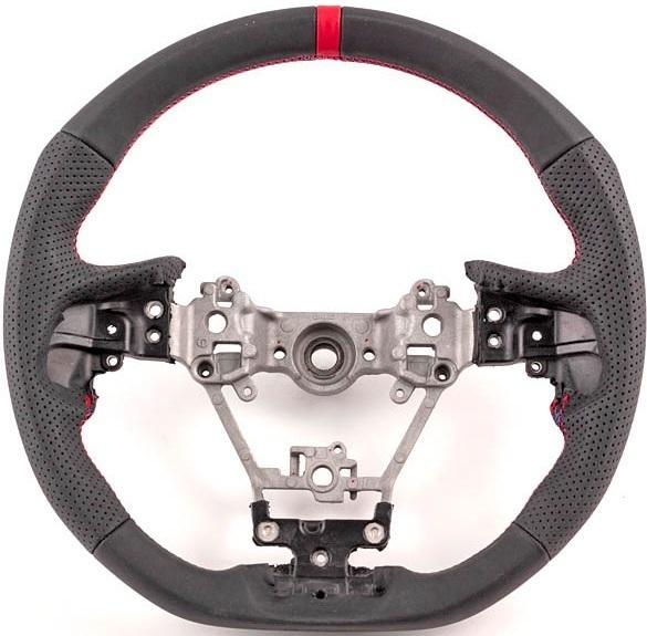 【M's】レガシィ(BS/BN)D-・XV(GT7/GT3)A-/インプレッサ(GT/GK)A-/フォレスター(SK)A- DAMD スポーツステアリング (R)/ダムド SS359-GT_画像4