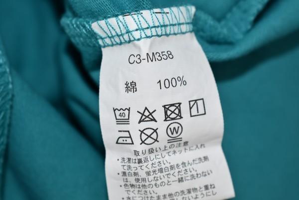 Champion/チャンピオン 19SS 胸ロゴTシャツ C3-M358 サイズ:M カラー:グリーン 19n06_画像4