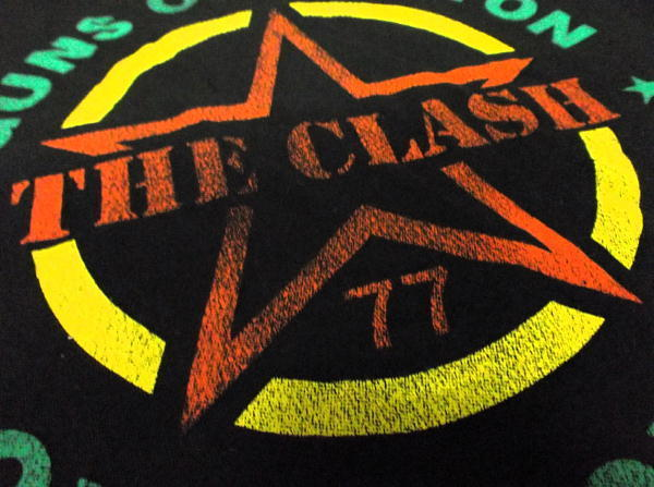 ★ザ・クラッシュTシャツ The CLASH Guns Of Brixton - S 正規品 punk_画像4
