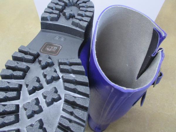 ミツウマ 長靴  グリーンフィールド L01  Gフィールド L01 ヒースブルー 24.0cm  定価:6380円_画像3