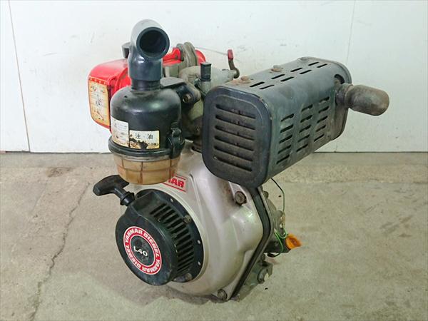 B6g19317 YANMAR ヤンマー L40SSL ディーゼルエンジン 最大4.2馬力 発動機【整備品/動画あり】_画像3