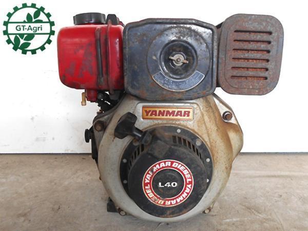 A15h1744 YANMAR ヤンマー L40 ディーゼルエンジン 発動機 4.2馬力【動画有】_画像1