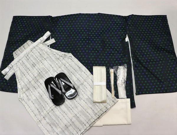 七五三 五歳 男児 羽織 袴フルセット おりびと 新品 (株)安田屋_画像1