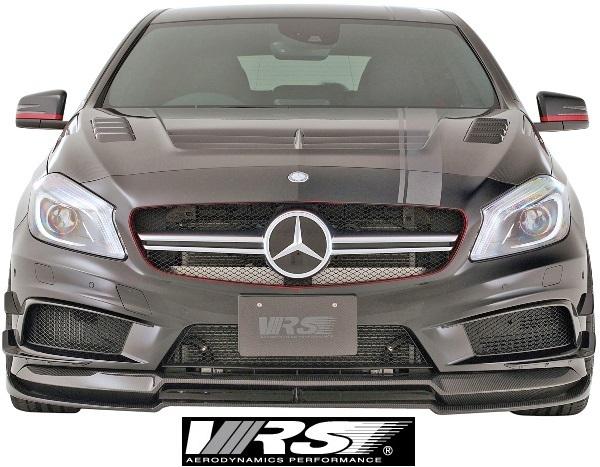 【M's】W176 A45AMG (2013y-2018y) VRS エアロキット 5点 (F+DT+SD+RD+RF)//バリス VARIS ベンツ Aクラス A45 AMG エアロ フルエアロ_画像3