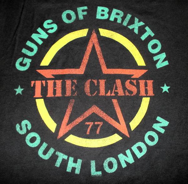 ★ザ・クラッシュTシャツ The CLASH Guns Of Brixton - S 正規品 punk_画像2
