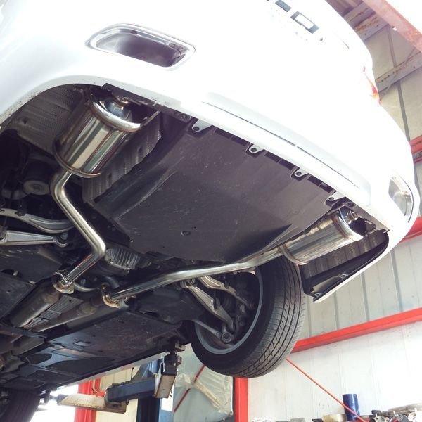 新品!LEXUSレクサスLS460Drago(USF40)用ロッソモデロDragoスポーツマフラー 安心の車検対応品!_画像2