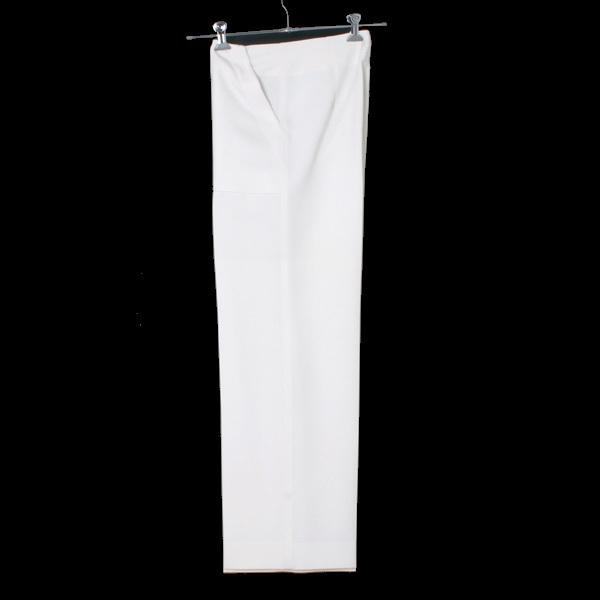 MRZ L'Appartement購入 WIDE PANTS ワイドパンツ 定価60,480円 size36 ホワイト 16030570005430 マルツィアーリ アパルトモン_画像2