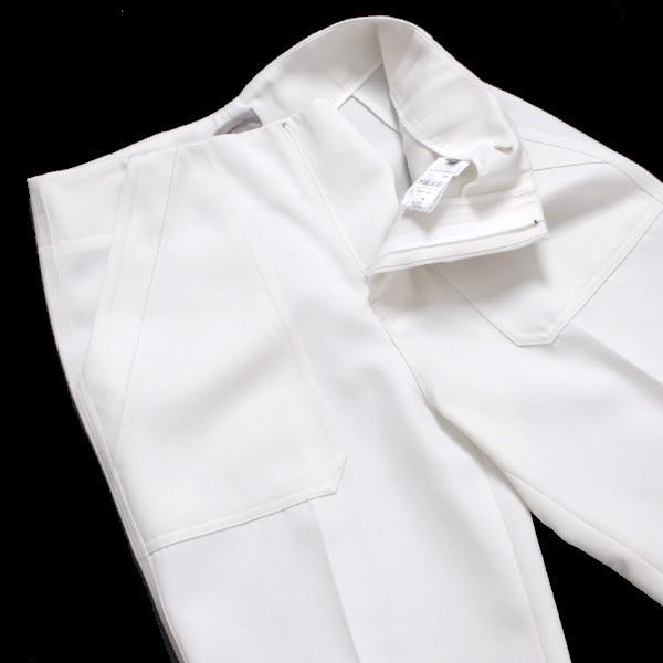 MRZ L'Appartement購入 WIDE PANTS ワイドパンツ 定価60,480円 size36 ホワイト 16030570005430 マルツィアーリ アパルトモン_画像4
