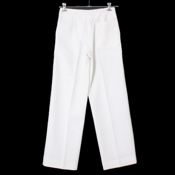 MRZ L'Appartement購入 WIDE PANTS ワイドパンツ 定価60,480円 size36 ホワイト 16030570005430 マルツィアーリ アパルトモン_画像3