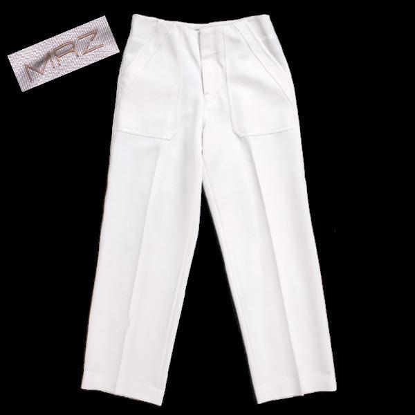 MRZ L'Appartement購入 WIDE PANTS ワイドパンツ 定価60,480円 size36 ホワイト 16030570005430 マルツィアーリ アパルトモン_画像1