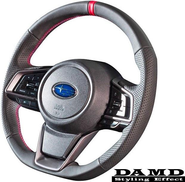 【M's】レガシィ(BS/BN)D-・XV(GT7/GT3)A-/インプレッサ(GT/GK)A-/フォレスター(SK)A- DAMD スポーツステアリング (R)/ダムド SS359-GT_画像1