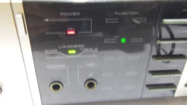■送料無料!Pioneerパイオニア STEREOAMPLIFIER プリメインアンプ 【 A-X5 】通電OK レトロ家電_画像2