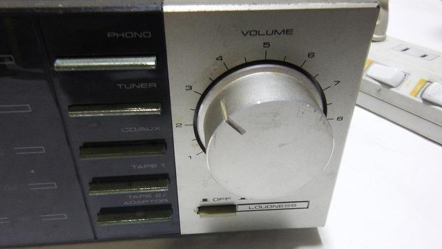 ■送料無料!Pioneerパイオニア STEREOAMPLIFIER プリメインアンプ 【 A-X5 】通電OK レトロ家電_画像4