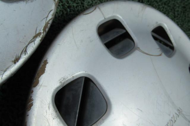 マツダ 純正 ホイールキャップ ホイールカバー 12インチ 3枚 AUTOZAM オートザムレビュー マツダレビュー AZ-1 DB型_画像7