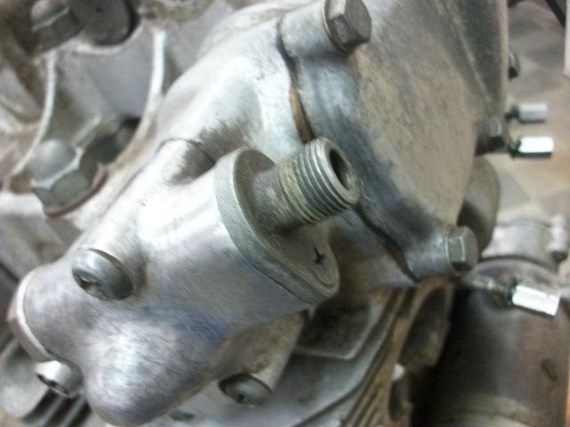 【BST】★ホンダ ドリームCB450K0 クジラ 旧車 CB450E エンジン タイプ2 再生ベース _画像7