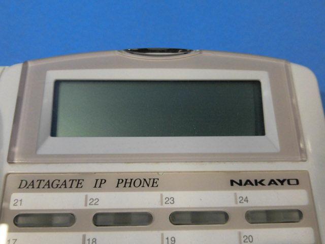 Ω ZZA1 6511◆) 保証有 きれい ナカヨ IP-24N-CT013A SIP電話機 通電確認済 領収書発行可 同梱可_画像4
