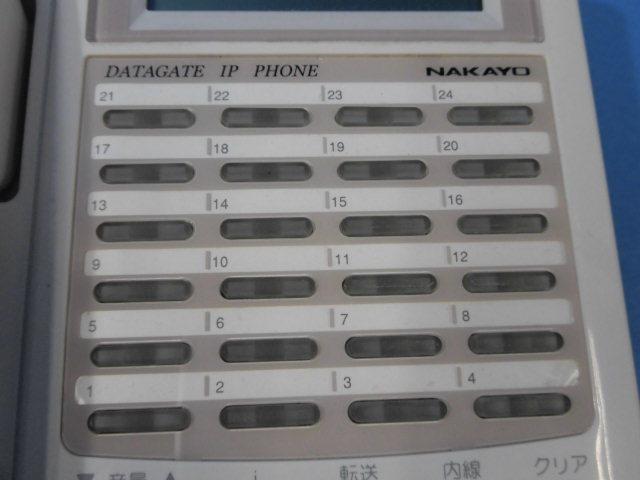 Ω ZZA1 6511◆) 保証有 きれい ナカヨ IP-24N-CT013A SIP電話機 通電確認済 領収書発行可 同梱可_画像5