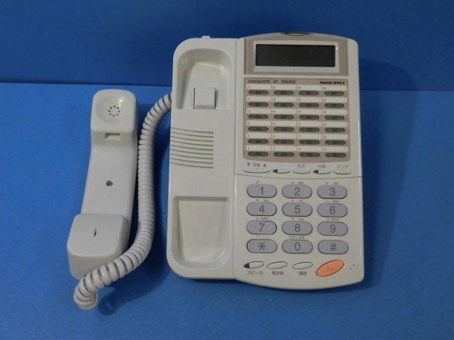 Ω ZZA1 6511◆) 保証有 きれい ナカヨ IP-24N-CT013A SIP電話機 通電確認済 領収書発行可 同梱可_画像2