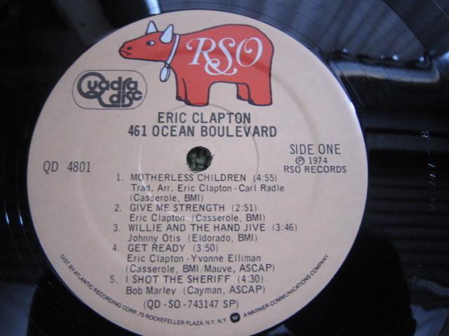 LP3978-エリック・クラプトン 461 OCEAN BOULEVARD カットアウト_画像6