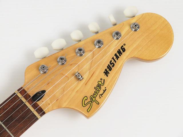 1円~ フェンダー Squier Mustang エレキギター 弦楽器 ケース付き Fender 中古_画像7