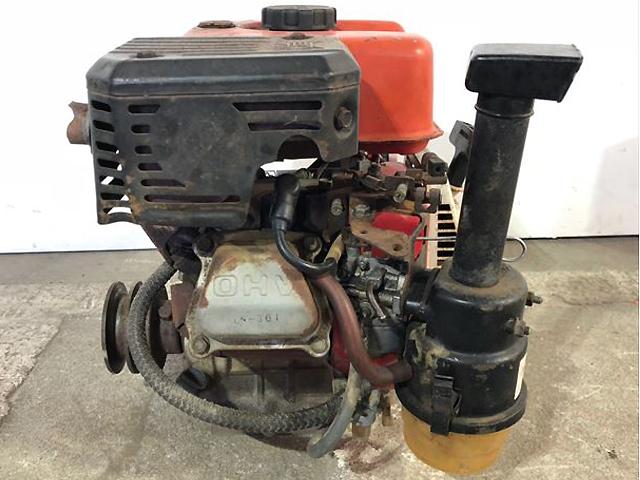 A13h5712 MITSUBISHI 三菱 GM181L 発動機 最大6馬力 ガソリンエンジン【整備済み/動画有】_画像4