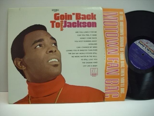 [LP] CHUCK JACKSON / GOIN' BACK TO CHUCK JACKSON チャック・ジャクソン US盤_画像1