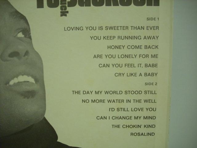 [LP] CHUCK JACKSON / GOIN' BACK TO CHUCK JACKSON チャック・ジャクソン US盤_画像3