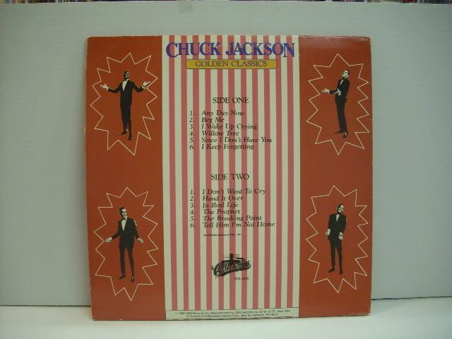 [LP] CHUCK JACKSON / GOLDEN CLASSICS チャック・ジャクソン US盤_画像2
