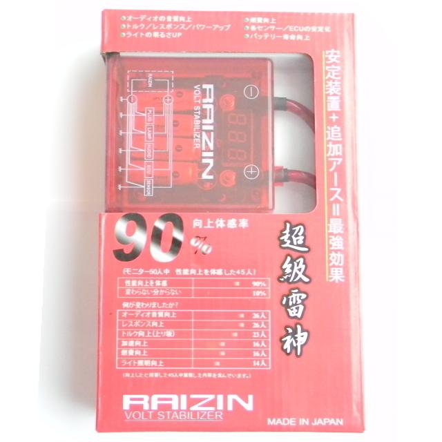 pivot ピボット コンデサーチューンアーシング特別セット雷神 RAIZIN ボルトスタビライザー 赤 アーシングキット 燃費向上/音質向上/安定_画像4