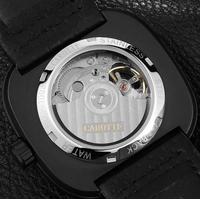 【送料無料☆WEB領収書発行】カロチフ 腕時計 自動機械式 メンズ モントレオム 高級_画像4