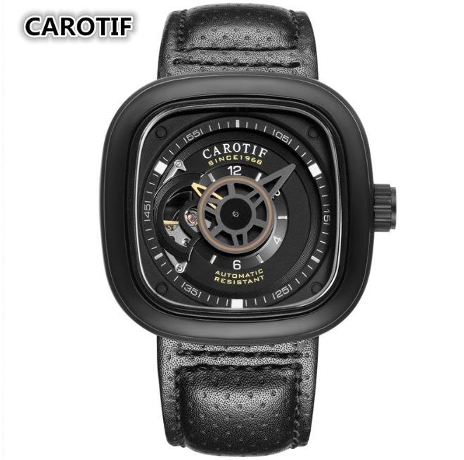 【送料無料☆WEB領収書発行】カロチフ 腕時計 自動機械式 メンズ モントレオム 高級_画像1