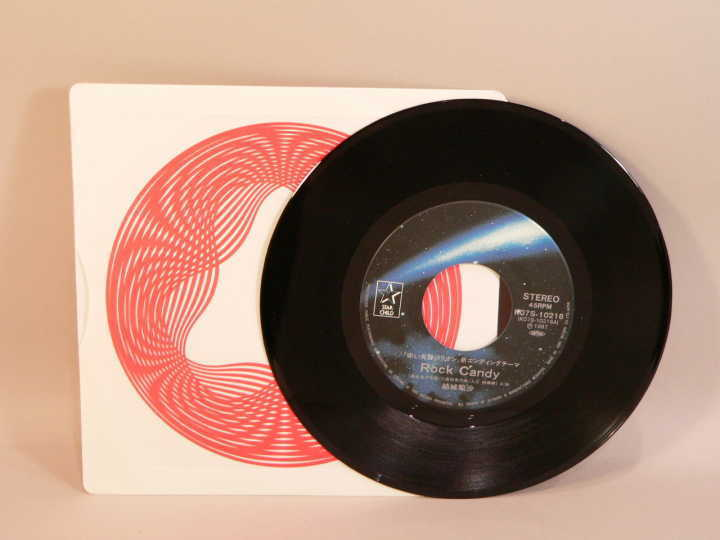 (EP) 赤い光弾ジリオン 「Rock Candy」「ノーモア・ノーマル」 歌:結城梨沙 シングルレコード / K07S-10216_画像4