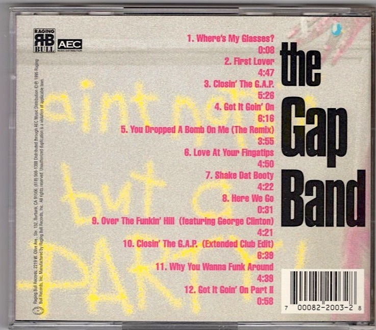 The Gap Band / Ain't Nothin' But A Party_画像2