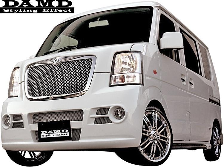 【M's】スズキ エブリィ DA64W/DA64V (-2010.4) DAMD Concept B type2 フロントバンパー+グリル 2点SET//ダムド エブリイ エブリー_画像1