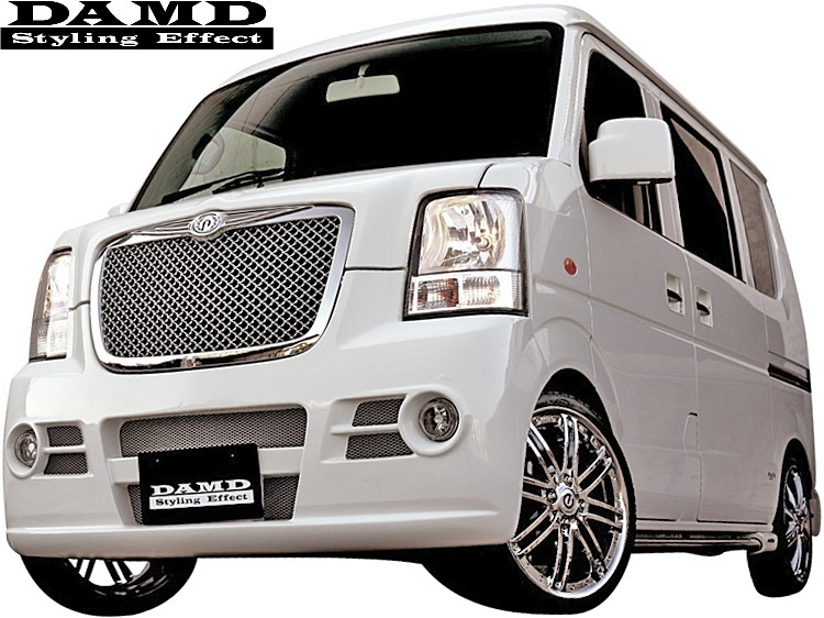 【M's】SUZUKI エブリィ DA64W/DA64V (-2010.4) DAMD Concept B type2 エアロキット 3点 (※ワゴン用)//ダムド エアロ エブリイ エブリー_画像1