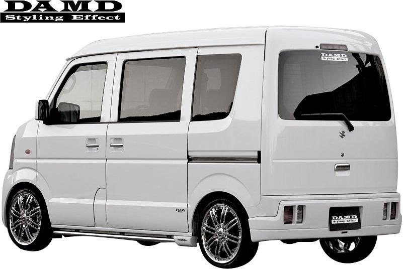 【M's】スズキ エブリィ DA64W/DA64V (-2010.4) DAMD Concept B type2 リアハーフバンパー(ワゴン用)//ダムド エアロ エブリイ エブリー_画像1