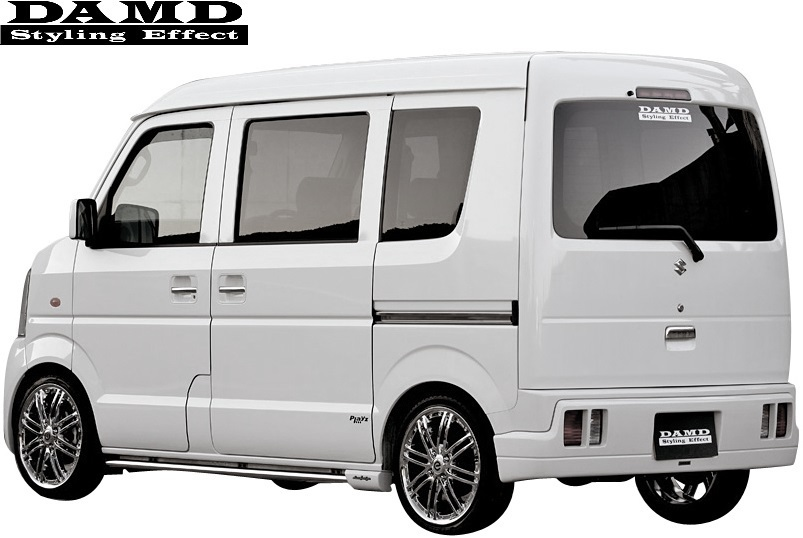 【M's】SUZUKI エブリィ DA64W/DA64V (-2010.4) DAMD Concept B type2 エアロキット 3点 (※バン用)//ダムド エアロ エブリイ エブリー_画像2